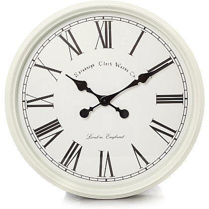 Cream Wall Clock | Home & Garden | George