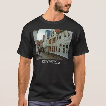 Norway, bergen wooden houses T-Shirt - tap, personalize, buy right now!