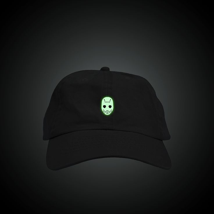 Glow in the Dark Jason Halloween Mask Dad Hat – Fresh Elites