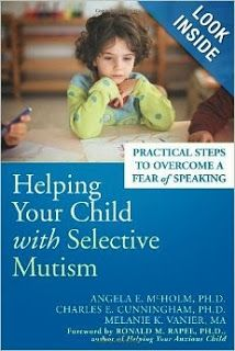 Teacher Mom of 3: Fast Facts About Selective Mutism