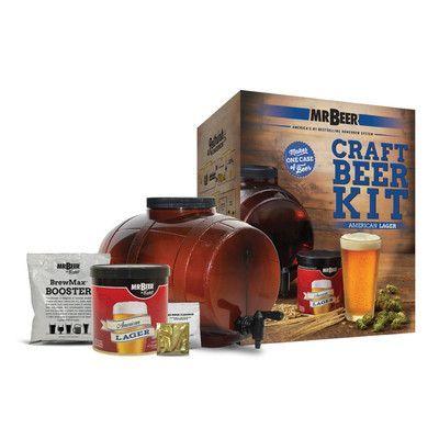 Mr. Beer Mr. Beer American Lager Craft Beer Making Kit