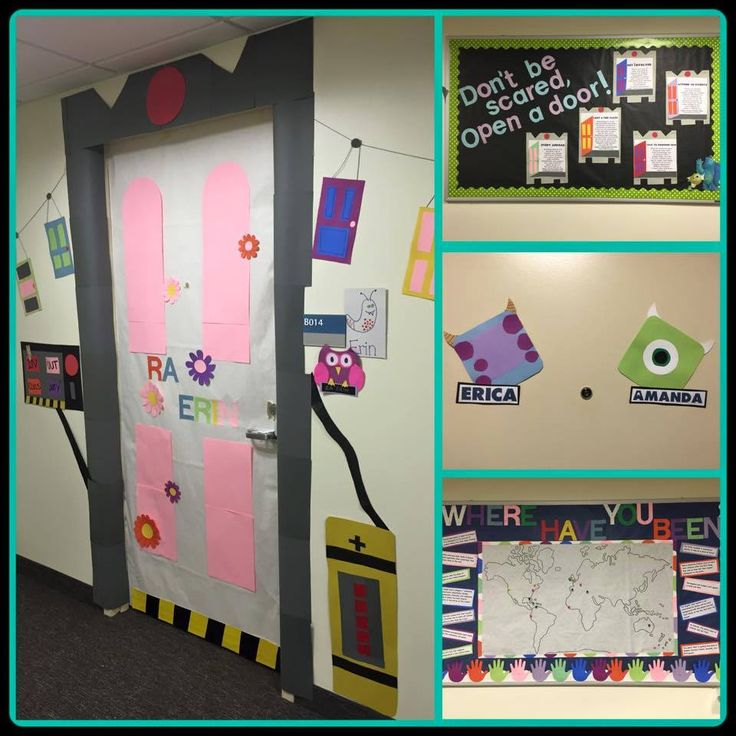 My Monsters Inc Floor Theme Monsters Inc Doors Monster