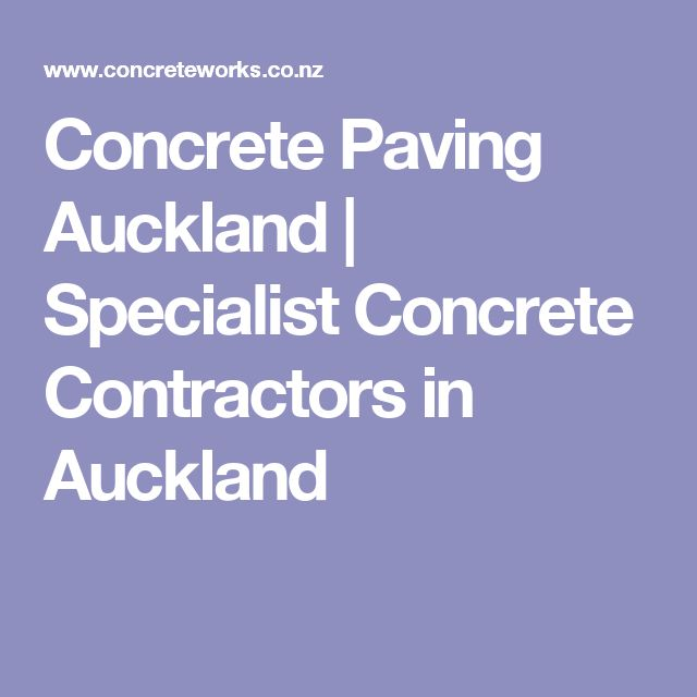 17 Best Ideas About Concrete Contractor On Pinterest
