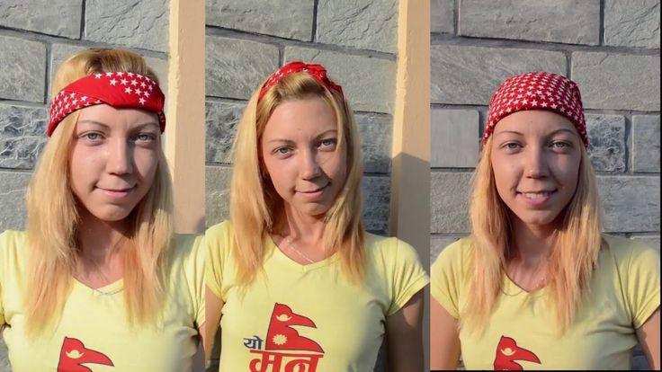 Бандана - это модно и красиво. В этом видео вы узнаете как правильно завязать бандану на голове. https://www.youtube.com/watch?v=43uyfNIGdUA