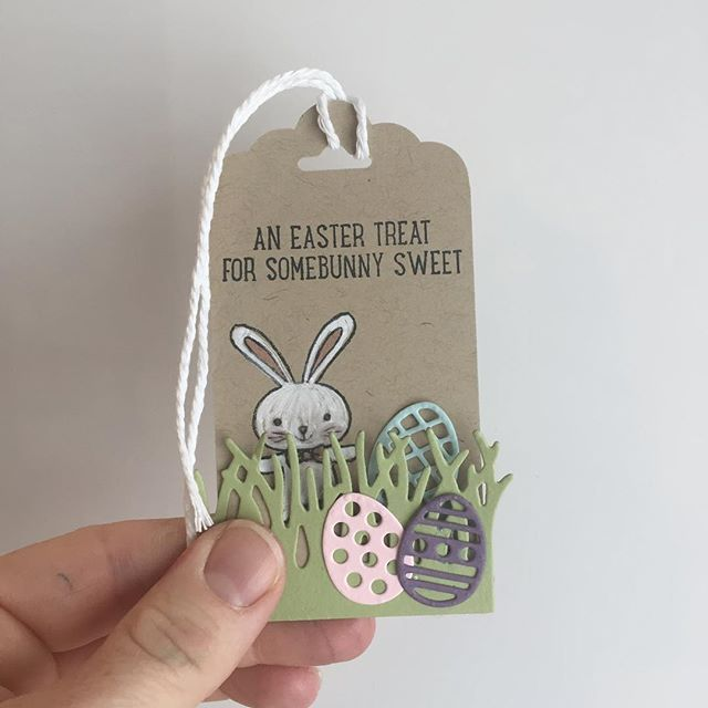 tag card critters easter bunny with eggs in the grass - Ahead of the game! Working on Easter projects! #basketbunch #cloud9stampers #imcrafty #stampinupdemonstrator#stampinup #stampinupcanada #stampinupcanadademonstrator