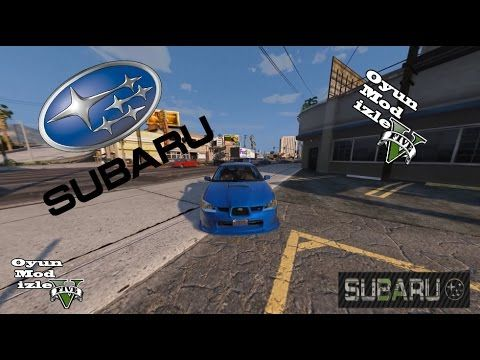 GTA 5 Subaru WRC Mod 1080 P