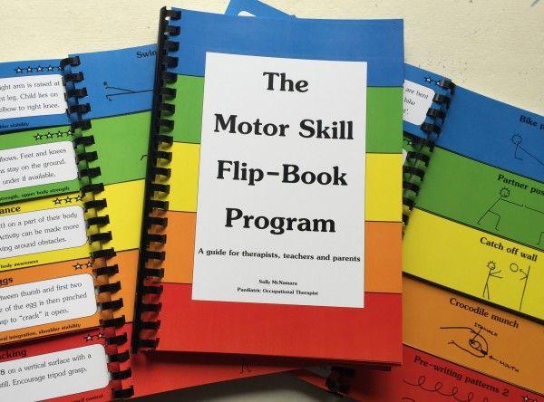 B137 The Motor Skill Flip Book Program