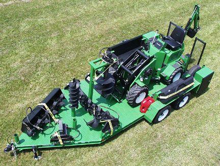 Bobcat Trailer   Re: Bobcat Toolcat 5600 or Power Trac 1850 for 168 ac?