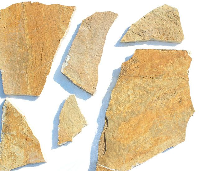 Flagstone Safrani has  an earthy saffron yellow color with tones of beige and yellow.  Flagstone Safrani is also known as irregular flagstone Safrani, crazy paving stone Safrani, crazy stone Safrani and paving stone Safrani. Because of its hardness,durability and non-absorbency , crazy stone stone Safrani, is an excellent choice for outdoor applications such as garages,  driveways, sidewalks, garden stepping stones, stone retaining walls and garden flagstone patios.