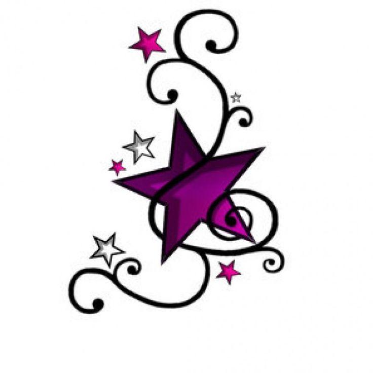 The 25 best Small star tattoos ideas on Pinterest Star tattoos