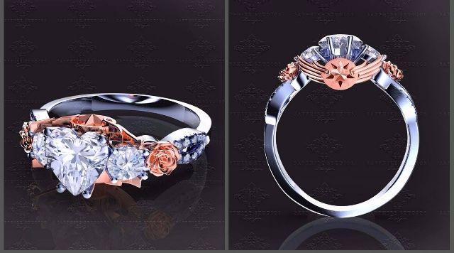 c784cc57c58 CardCaptors Sakura inspires engagement ring! I get this just to wear ...