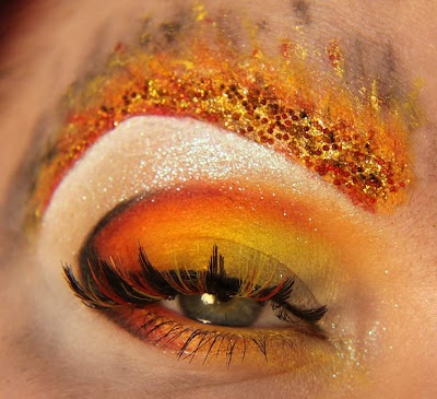 Girl on Fire Makeup #2