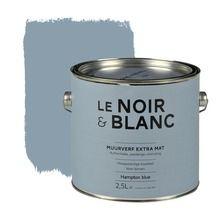 Le Noir & Blanc muurverf extra mat hampton blue 2,5 l