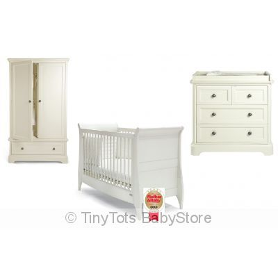 Mamas & Papas 3 Pc Nursery Set | Nursery Furnitre |Mamas and Papas convertable cot,wardrobe,change table,Mosses | Baby Products Online Store With Free Shipping Australia Wide