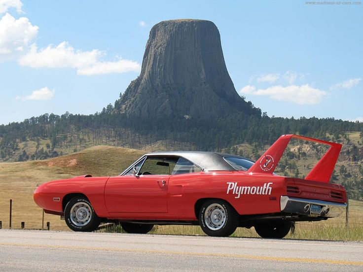 The Plymouth Superbird's styling may have been too extreme for the time of its release in the 1970s, but it eventually caught on and became a collector's car. Fun Fact: the Superbird's horn imitated the call of the Road Runner cartoon character.