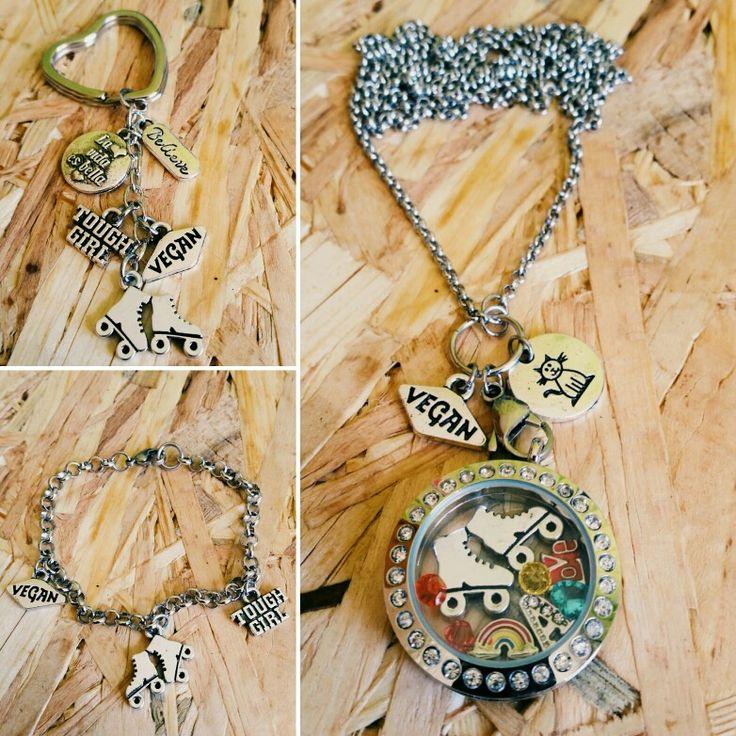 Keychain, stainless Steel bracelets, Origami Owl for Skaters Vegan. Llavero, pulsera inoxidable, Medallón Origami Owl para patinadores Veganos. https://www.facebook.com/crossefitdesign etsy.com/shop/CrosseFitDesign #vegan #skatergirl #skater #patinadora #pattini #pattinatori #veganos #vegani #veganismo #origamiowl #bracelet #pulsera #braccialetto  #llaverospersonalizados #llaveros #keychain #portachiavipersonalizzati #Portachiavi #llaverospersonalizados