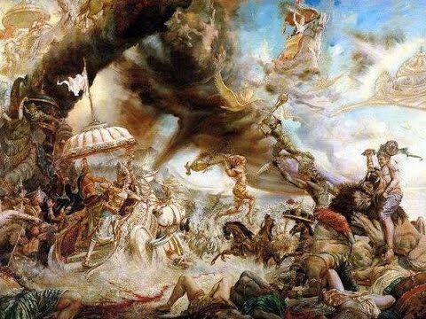 История битвы на Курукшетре. Георгий Сидоров