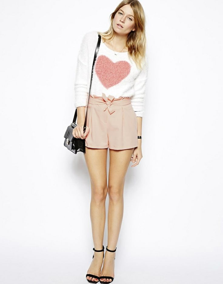 ASOS Nude shorts with belted waist detail found on NUDEVOTION