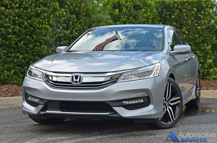 "Check out this awesome review of the 2016 Accord! || ""In totality, the new 2016 Honda Accord V6 Touring is a welcomed addition to the highly competitive midsized sedan segment bringing a sportier flavor with its refresh. The new 2016 Honda Accord, coming in as many as 6 different trim levels... the race to the top is a close one and with the new 2016 Honda Accord, I'm assured things will stay that way"""