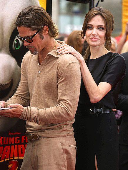 BACK AT IT photo | Angelina Jolie, Brad Pitt