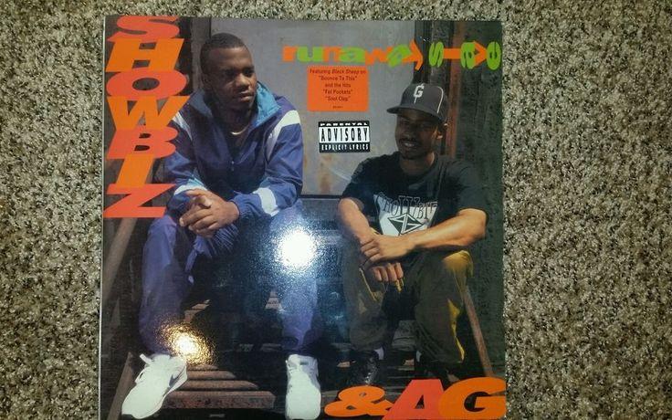 SHOWBIZ & A.G. Runaway Slave LP PAYDAY Diamond D Lord Finesse Big L J Dilla #EastCoast