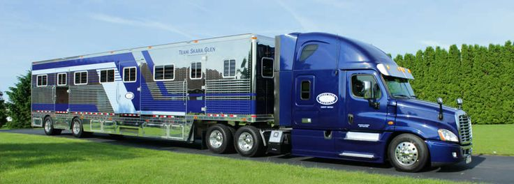 Custom+Semi+Horse+Trailers | Commercial Horse Trailers