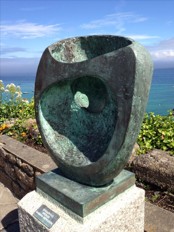 Barbra Hepworth sculpture St Ives Cornwall England