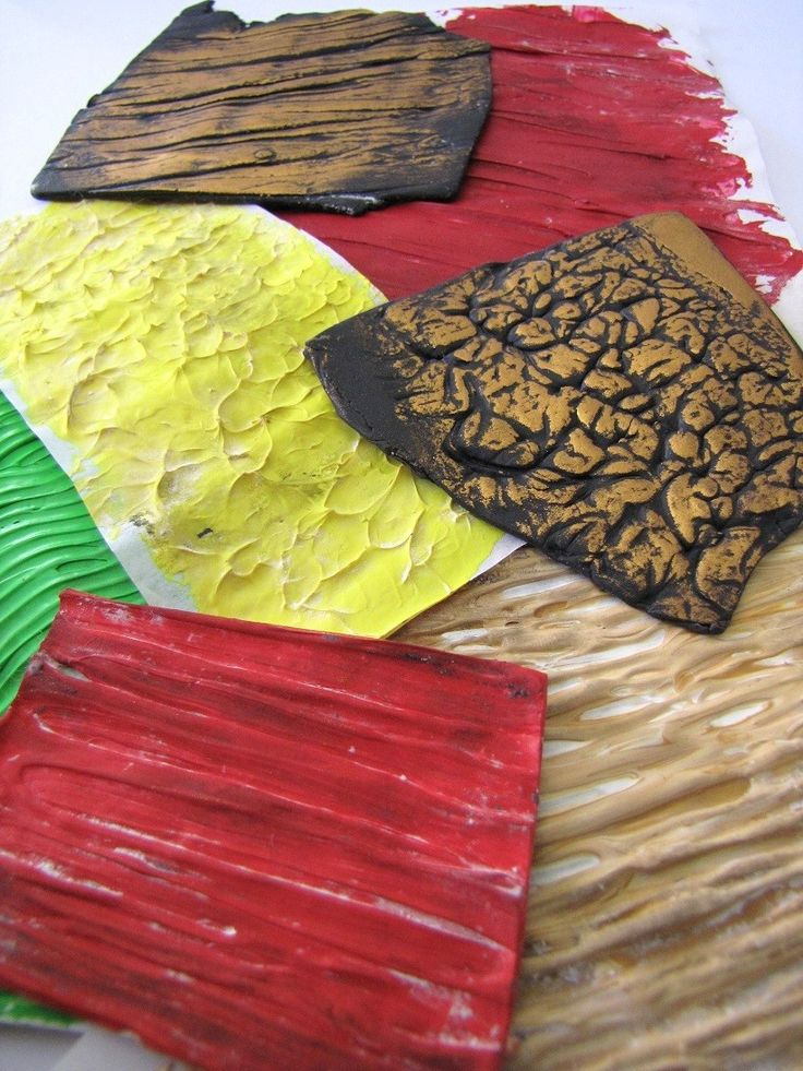 FREE CLASS: Acrylic Paint Texture Plates with Claire Wallis #craftartedu