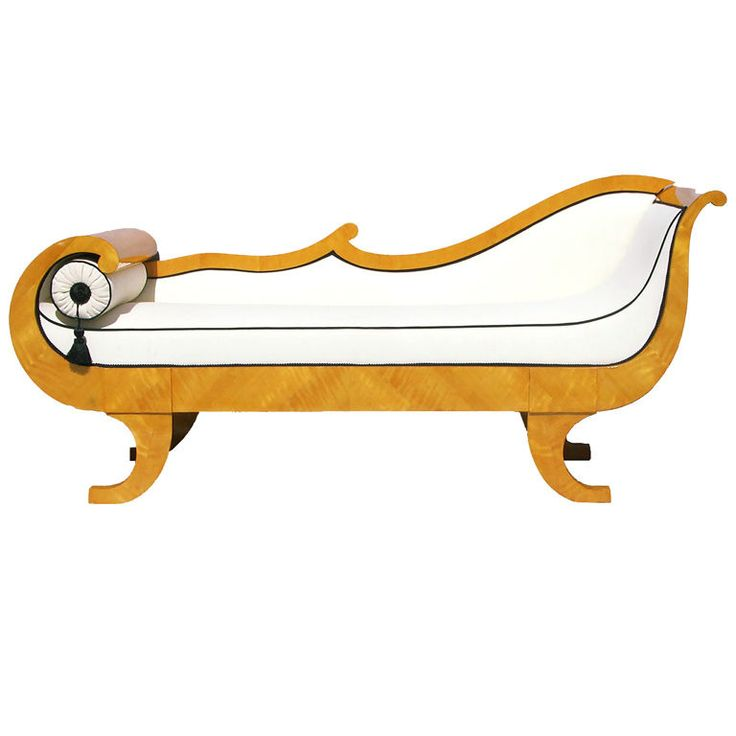 53 best antique furniture recamier chaise sofas for Chaise lounge antique furniture