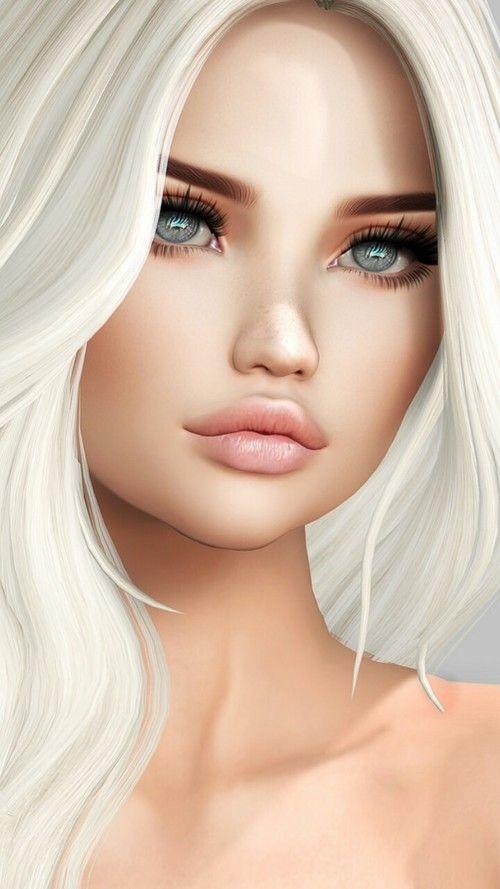 3d, 3D art, art, art girl, artists, background, beautiful, beautiful girl, beauty, beauty girl, cinema4d, design, drawing, fashion, fashionable, girl, illustration, illustration girl, inspiration, luxury, makeup, wallpapers, we heart it, woman, beautiful   girl, cute and fashion