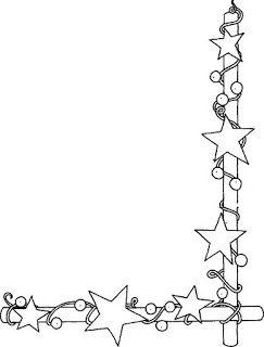 Bordas decorativas natal