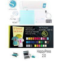 Silhouette Silhouette Cameo + HappyPress 2.0 + SEF Startpaket