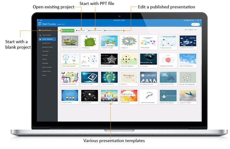 Free Presentation Software   Video Presentation Maker and PowerPoint alternative   Focusky