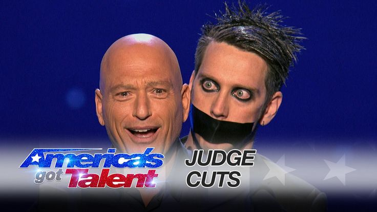 Tape Face: Strange Mime Uses Howie Mandel in Musical Act - America's Got...