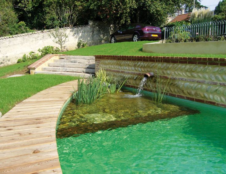 7 best piscina images on pinterest albercas materiales for Construccion albercas naturales
