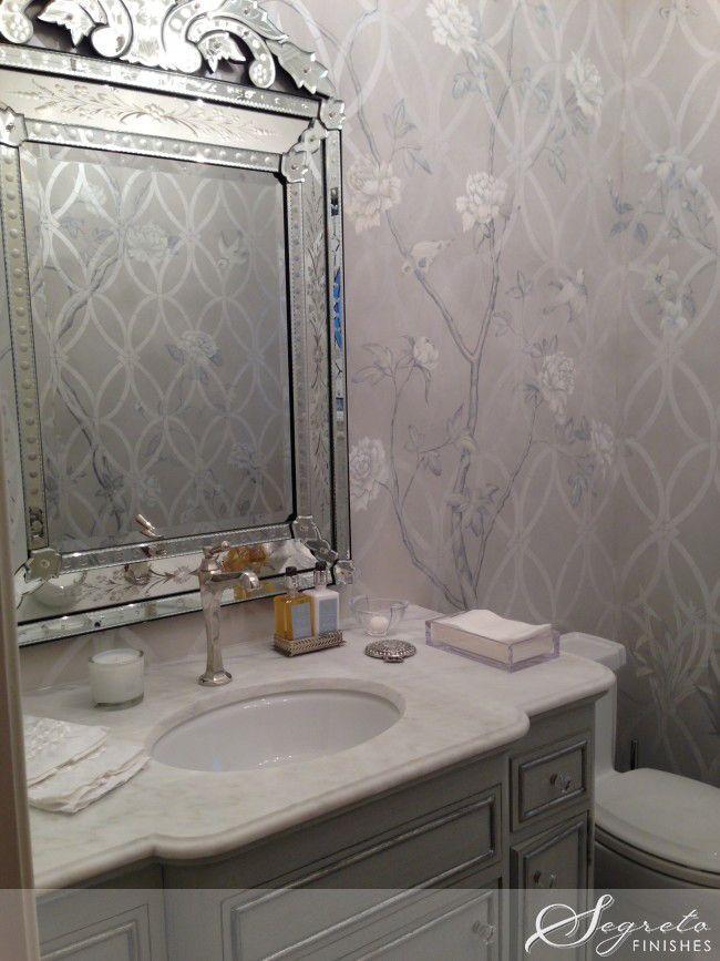 Best Powder Room Images On Pinterest Bathroom Ideas