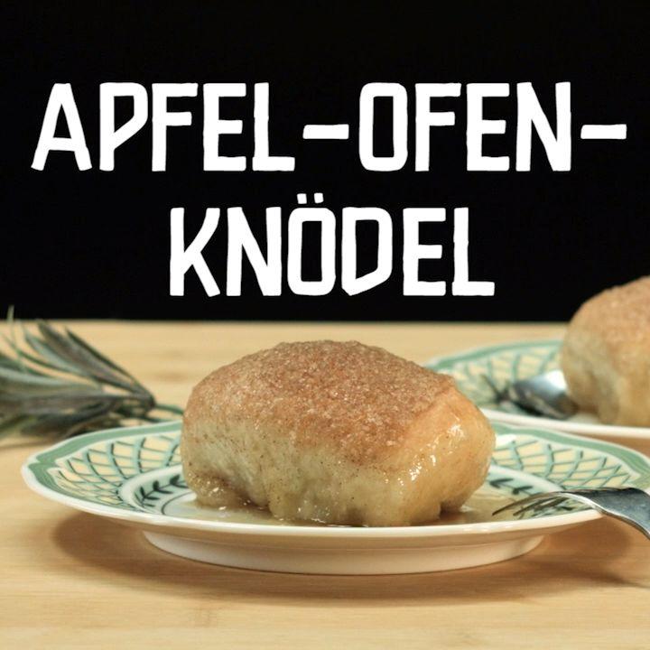 Süße Apfel-Ofen-Knödel – Chefkoch