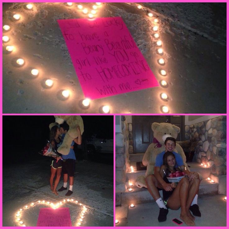"""This Is So Romantic!! """"I'd Be """"beary"""" Lucky If You'd Go To"""
