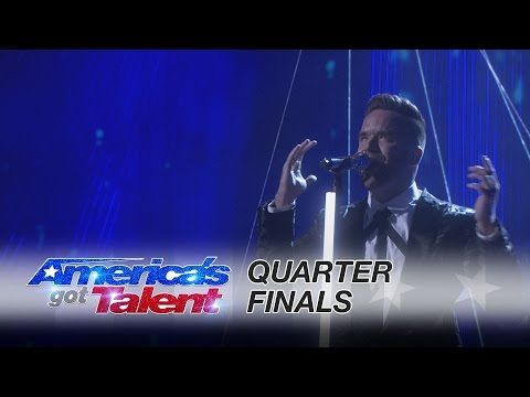 """Brian Justin Crum: Singer Stuns with Cover of """"In the Air Tonight"""" - America's Got Talent 2016 - YouTube"""