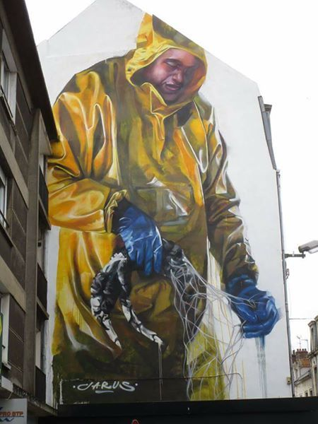 Young Jarus in Boulogne sur Mer, France, 2017