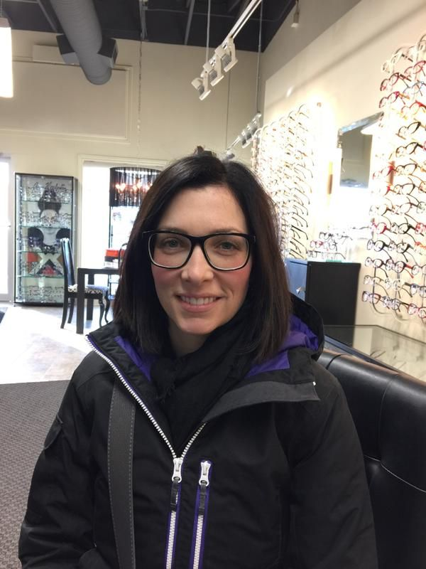 Bree sporting Mikita frames, she decided to get two pairs at the same time!
