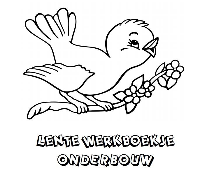 Lente Werkboekje Onderbouw! Klik voor de PDF!