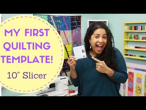 "Crafty Gemini 10"" Slicer Quilting Template & Ruler! - YouTube 