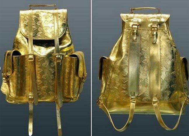 This bag gold costs $ 1,650, equivalent to the value of an alloy of gold.