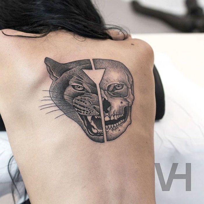 Tatuaje de pantera