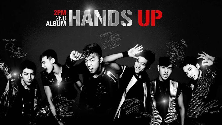 2pm Hands Up - KPOP Wallpaper
