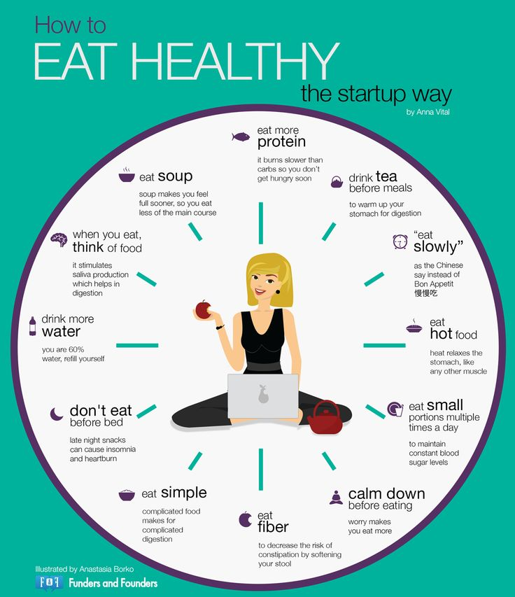 3 ways being healthy