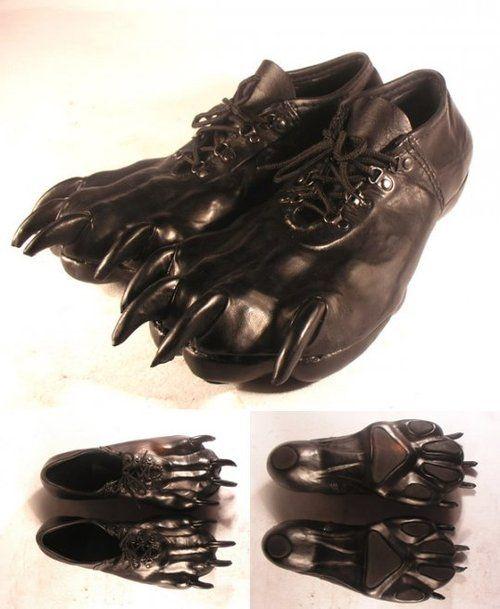 Claw Shoes.......big bad wolf?