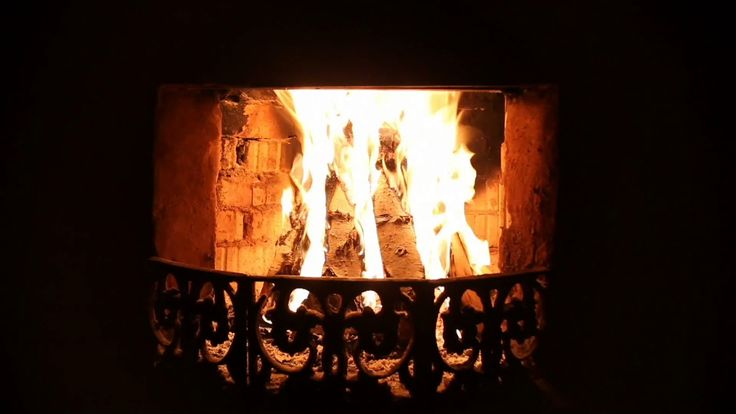 Fireplace & Thunderstorm Sounds for Sleep & Relaxation (Rumbling Thunder...
