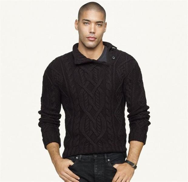 Самые модные вязаные свитера мужские